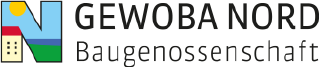 GEWOBA Nord Baugenossenschaft – Bauprojekt Hopfenstraße Logo